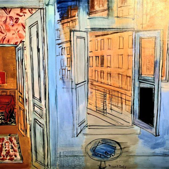 L'atelier de l'impasse Guelma, 1935-1952 Huile sur toile