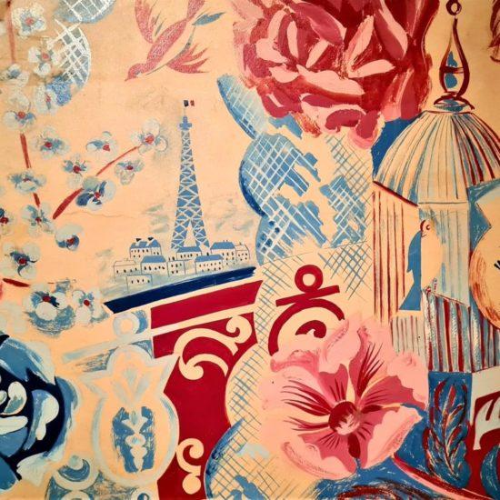 Balcon de Paris, 1925 Huile sur toile
