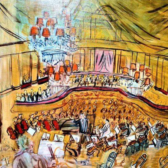 Le grand concert, 1948 Huile sur toile