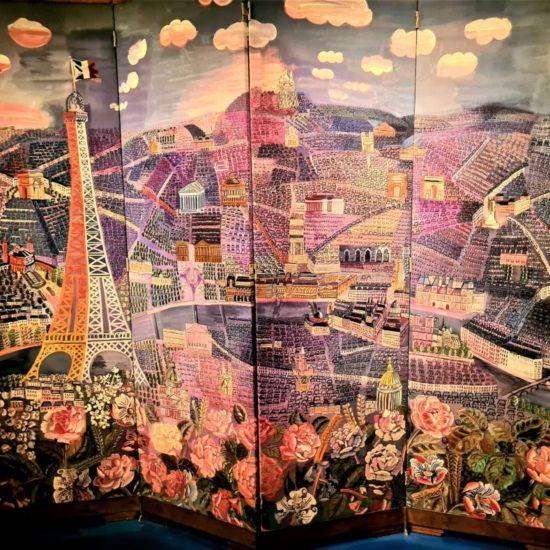 Le Panorama de Paris, 1920-1930        Le Paravent de la manufacture de Beauvais