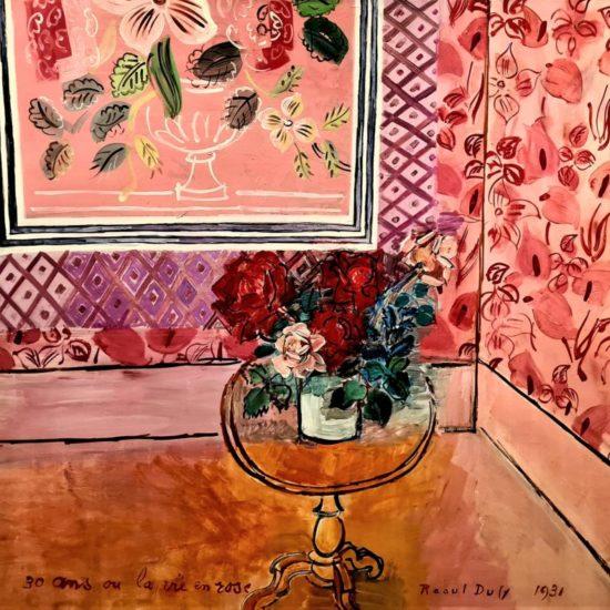Trente ans ou La Vie en rose, 1931 Huile sur toile